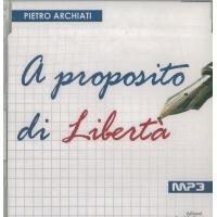 A proposito di libertà - Pietro Archiati