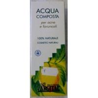 Acqua composta per acne e foruncoli
