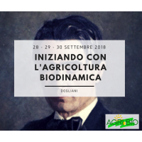 INIZIANDO CON L'AGRICOLTURA BIODINAMICA