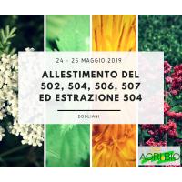 ALLESTIMENTO DEL 502, 504, 506, 507 ED ESTRAZIONE 504