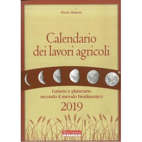 Calendario dei lavori agricoli 2019 - Masson P.
