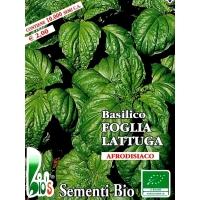 BASILICO FOGLIA DI LATTUGA - BIOSEME 0515