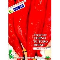 PEPERONE CORNO DI TORO ROSSO - BIOSEME 3002