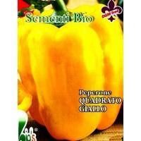 PEPERONE QUADRATO D'ASTI GIALLO - BIOSEME 3007