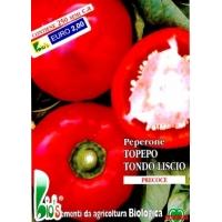 PEPERONE TOPEPO TONDO LISCIO - BIOSEME 3009