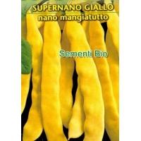 FAGIOLO NANO MANGIATUTTO SUPERNANO GIALLO PIATTO - BIOSEME 2390