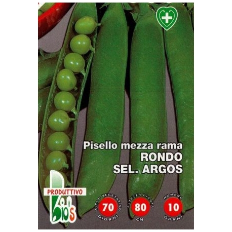 PISELLO MEZZA RAMA RONDO SEL. ARGOS - BIOSEME 3112