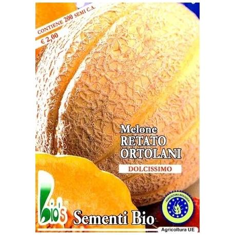 MELONE RETATO DEGLI ORTOLANI - BIOSEME 2909
