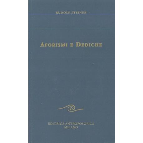 Aforismi e dediche - Rudolf Steiner