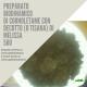 500 CORNOLETAME CON DECOTTO ( O TISANA) DI MELISSA