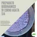 514 CORNO AGATA VIOLA / TOPAZIO