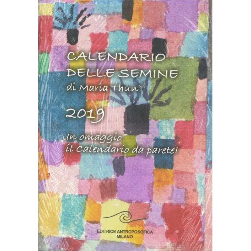 Calendario Semina Orto 2020.Calendario Delle Semine 2019 Thun Maria E Matthias