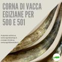 CORNA EGIZIANE VUOTE PER 500 E 501