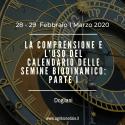 LA COMPRENSIONE E L'USO DEL CALENDARIO DELLE SEMINE BIODINAMICO: 1A PARTE