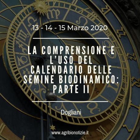 Calendario Lunare 2020 Semine.La Comprensione E L Uso Del Calendario Delle Semine Biodinamico 2a Parte