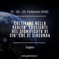 COLTIVARE NELLA REALTA' COSCIENTI DEL SIGNIFICATO DI CIO' CHE CI CIRCONDA