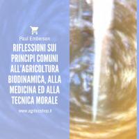 RIFLESSIONI SUI PRINCIPI COMUNI ALL'AGRICOLTURA BIODINAMICA, - PAUL EMBERSON