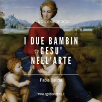 I DUE BAMBIN GESU' NELL'ARTE
