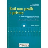 Enti Non Profit e privacy - Carlo Bendin, Michela Vallarino