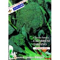 CAVOLO BROCCOLO RAMOSO CALABRESE TARDIVO - BIOSEME 1205
