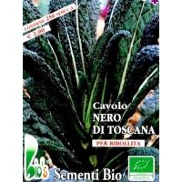 CAVOLO FOGLIA PALMIZIO NERO TOSCANO - BIOSEME 1203