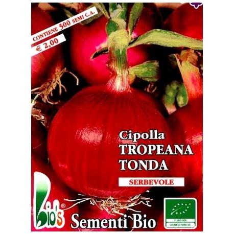 CIPOLLA ROSSA TROPEANA TONDA - BIOSEME 2025